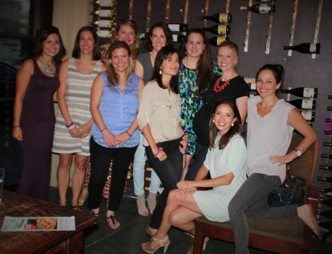 A shot of my Transplant Mommas at our GroupRaise fundraiser. Thanks for the support ladies!