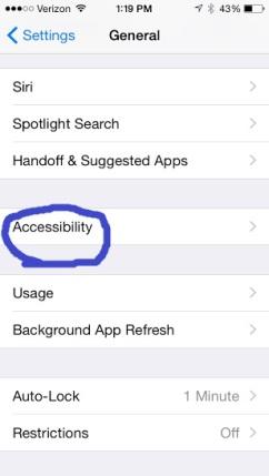 Click Accessibility
