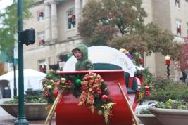 Cruising in Santa's Sleigh